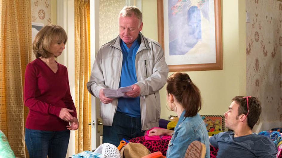 Coronation Street 10/07 – Gail apologises to Michael