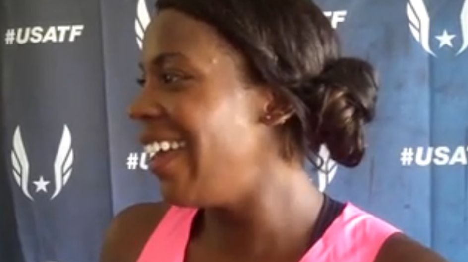 Una mujer embarazada de 8 meses corre 800 metros en los últimos Campeonatos de atletismo de EE.UU