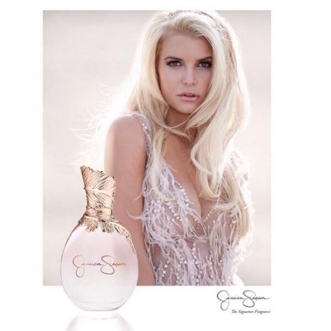 Jessica Simpson nouveau parfum affiche