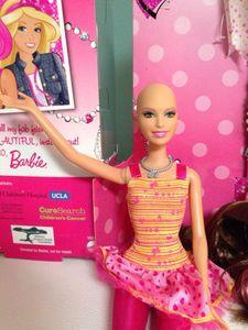 Ella, la Barbie chauve sera bientôt commercialisée