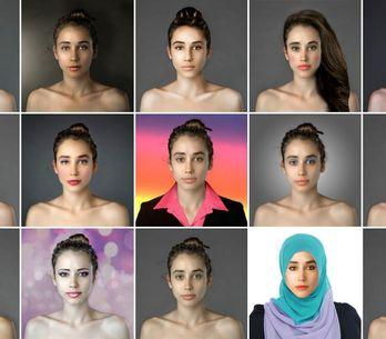 Los cánones de belleza según 25 países: un experimento de Photoshop da la vuelta