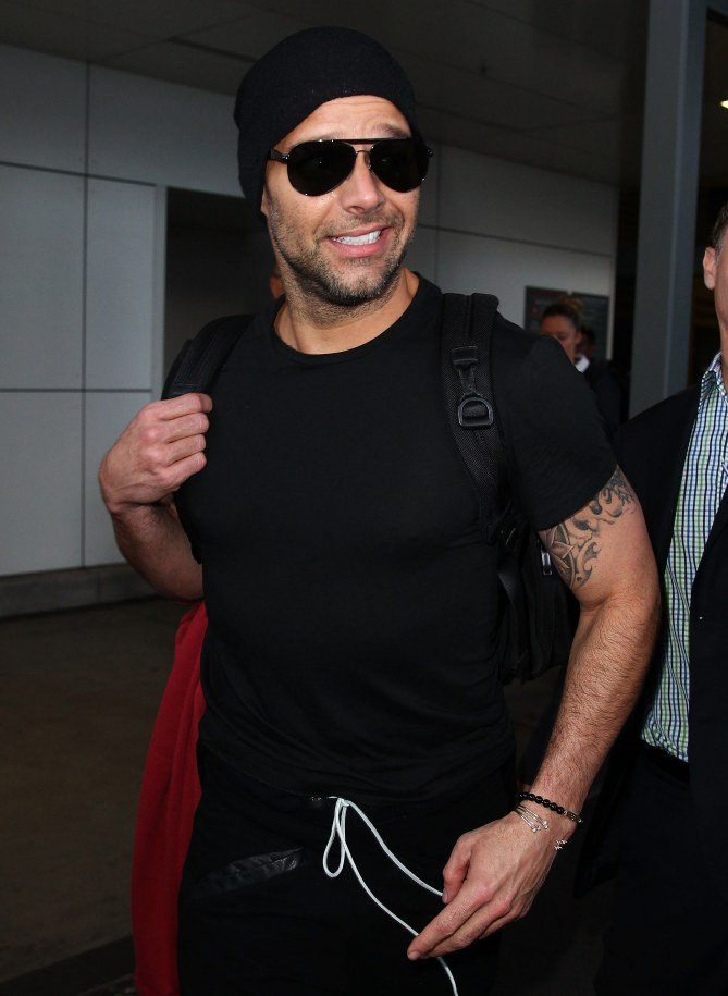 Ricky Martin in L.A.