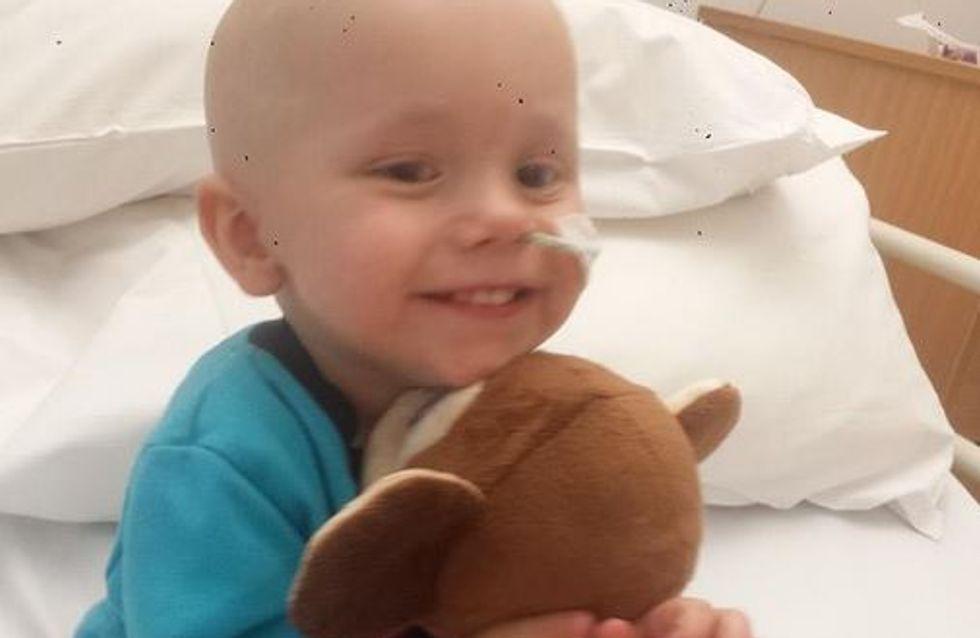 Cancer : Un bébé de 18 mois guérit de 27 tumeurs