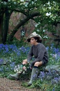 Victoria Beckham pour Vogue UK