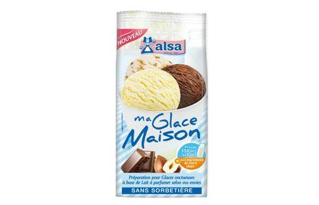 Ma Glace Maison d'Alsa au chocolat - 2,49€ pour 1 litre de glace