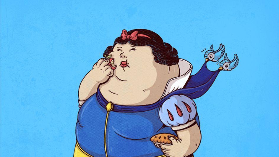 Famous Chunkies: e se i personaggi famosi avessero dei chili di troppo? Ecco come sarebbero...