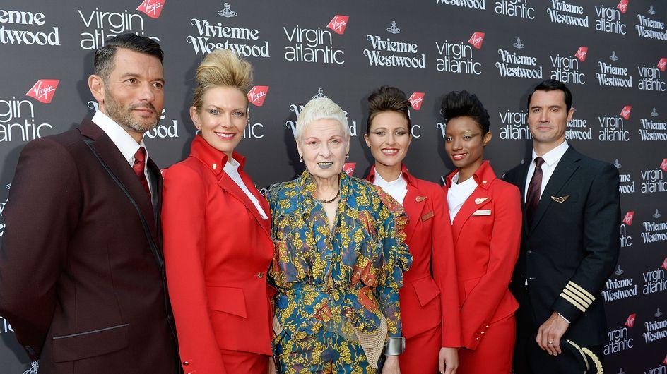 Vivienne Westwood relooke les hôtesses de l'air Virgin Atlantic