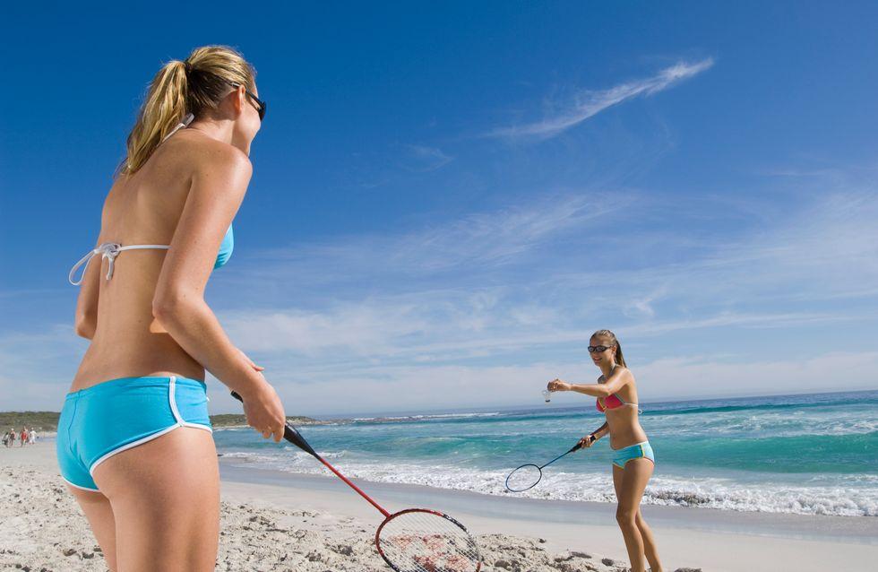 Tonique et fun : le badminton, je m'y mets dès cet été !