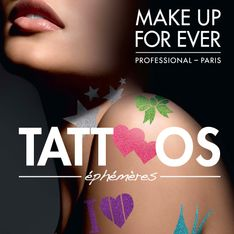 Make Up For Ever : Des tatouages pour la bonne cause