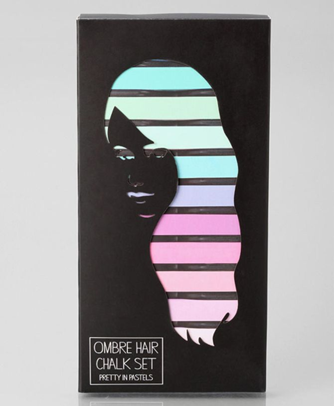 Set de craies Ombre Hair Chalk, Urban Outfitters - Env. 7 €