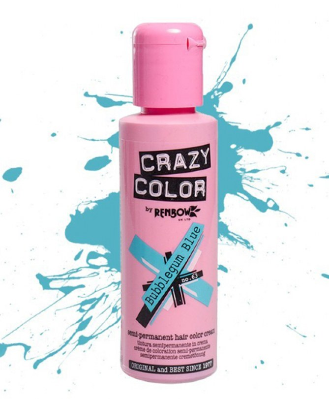 Coloration rose Crazy Color - Env. 6 €