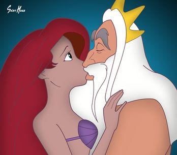 La polémica campaña contra el abuso sexual protagonizada por las princesas Disne