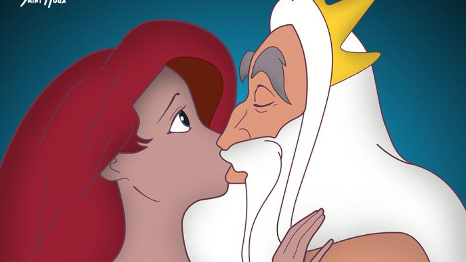 La polémica campaña contra el abuso sexual protagonizada por las princesas Disney