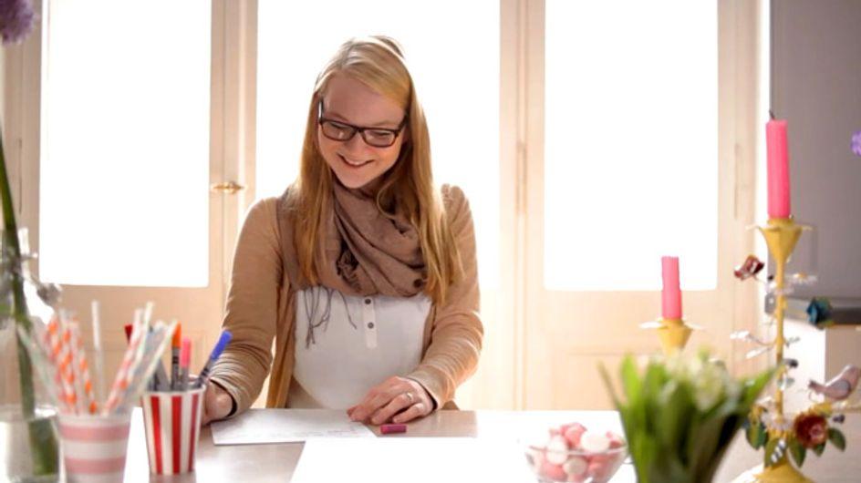 An wen diese Frau einen Liebesbrief schreibt, erratet ihr nie - aber es ist wirklich genial!
