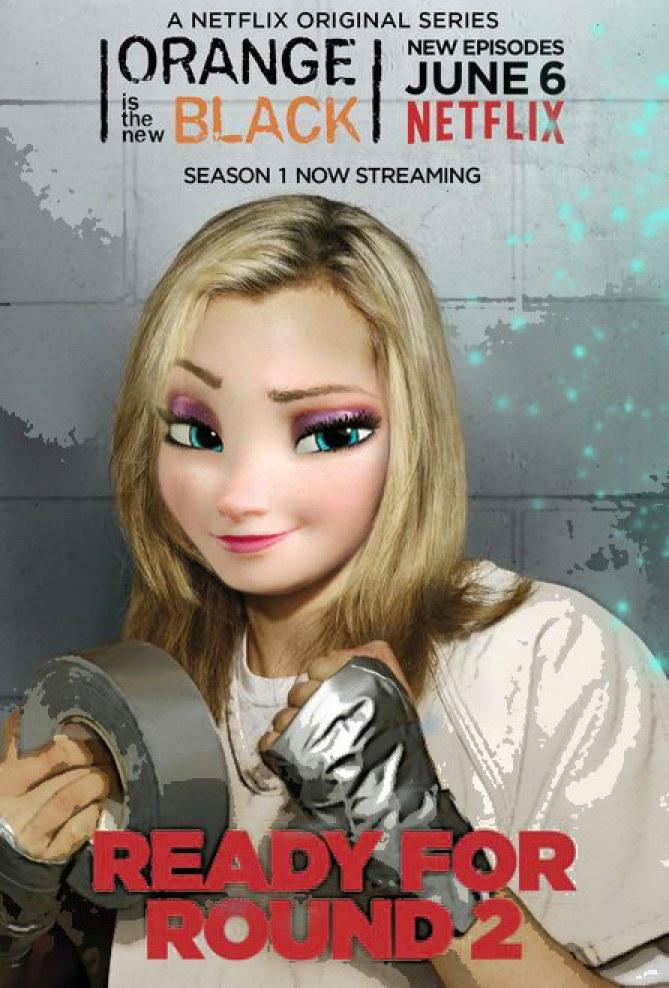 Elsa diventa Piper