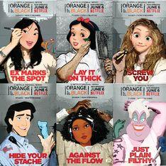 Le principesse Disney diventano le protagoniste di Orange is the New Black!