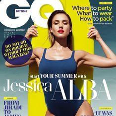 Jessica Alba : Surfeuse stylée en Une de GQ (Photos)