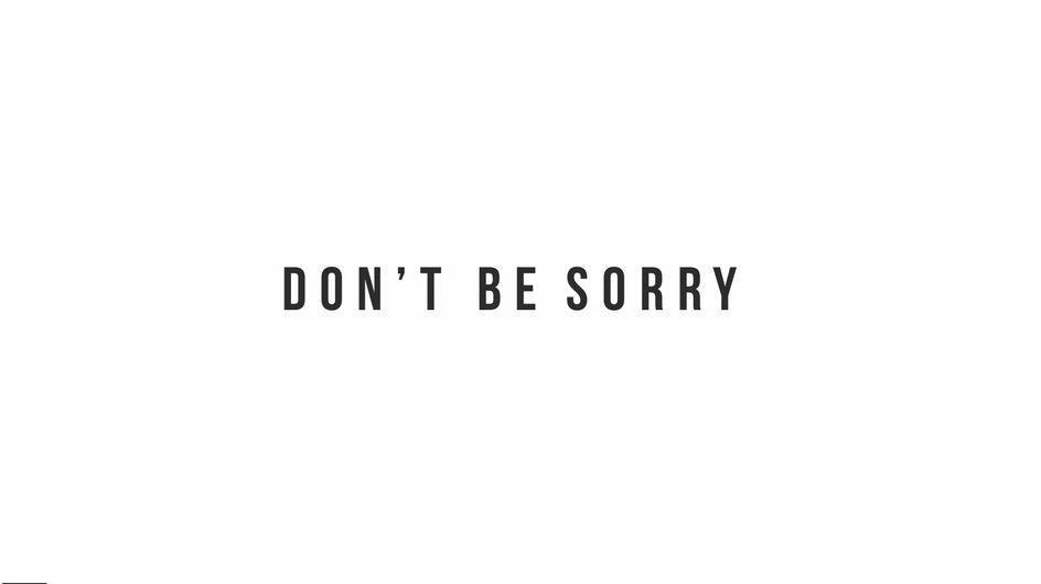 ¿Por qué las mujeres tenemos que pedir disculpas tantas veces? Y si dejáramos de hacerlo...