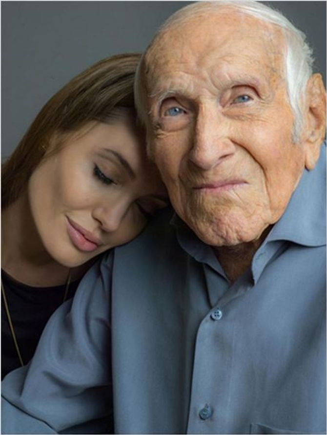 Angelina Jolie et Louis Zamperini