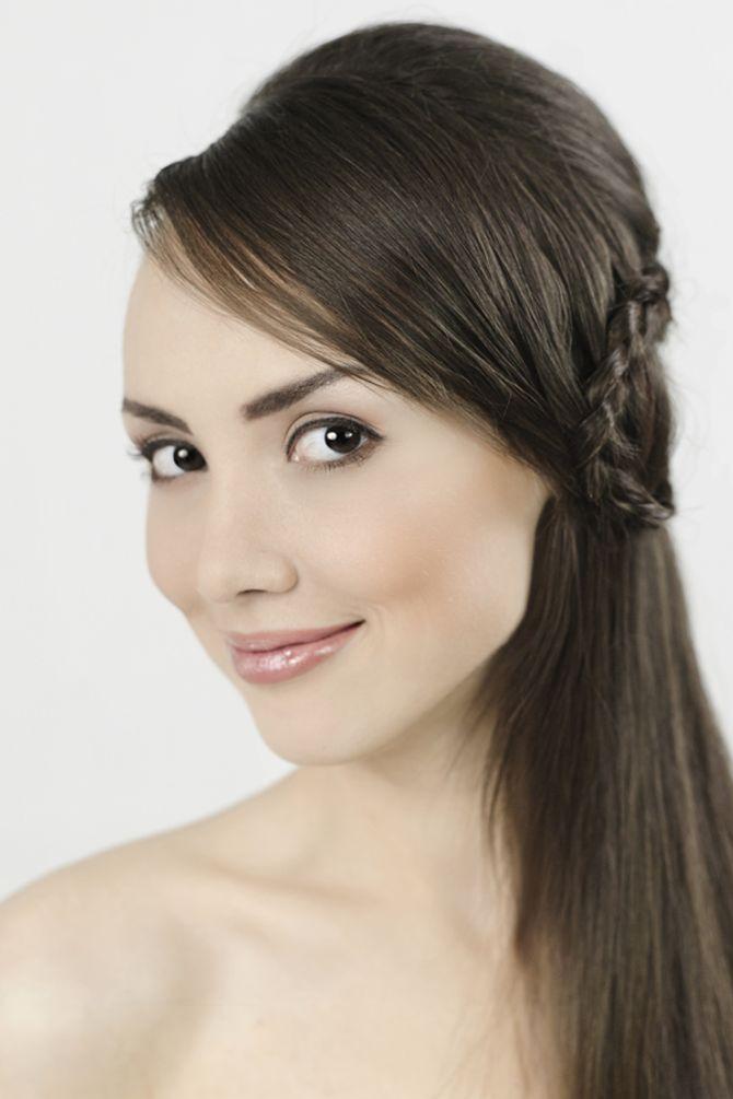 Dezentes Braut Make-up mit Lidstrich