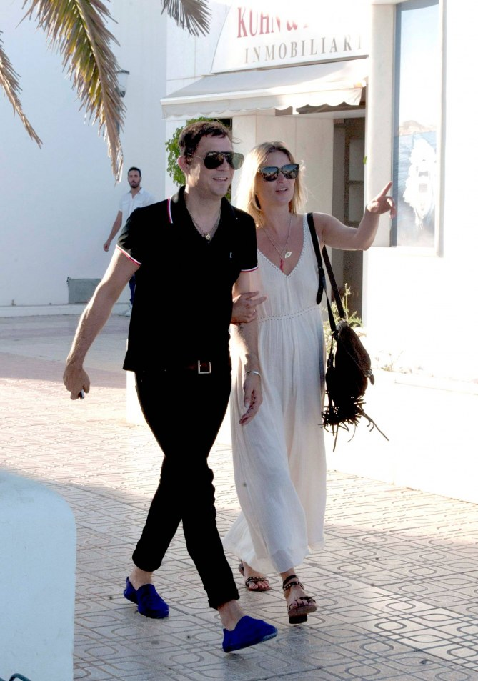 Kate Moss à Ibiza