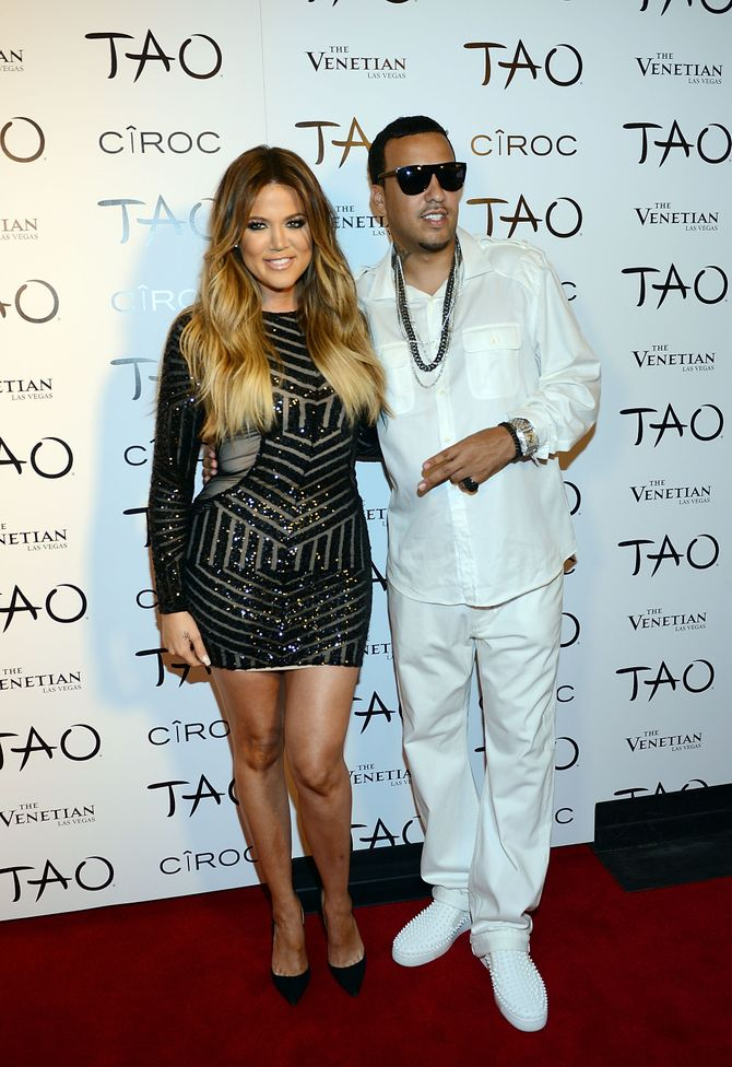 Le premier red carpet de Khloé Kardashian et French Montana