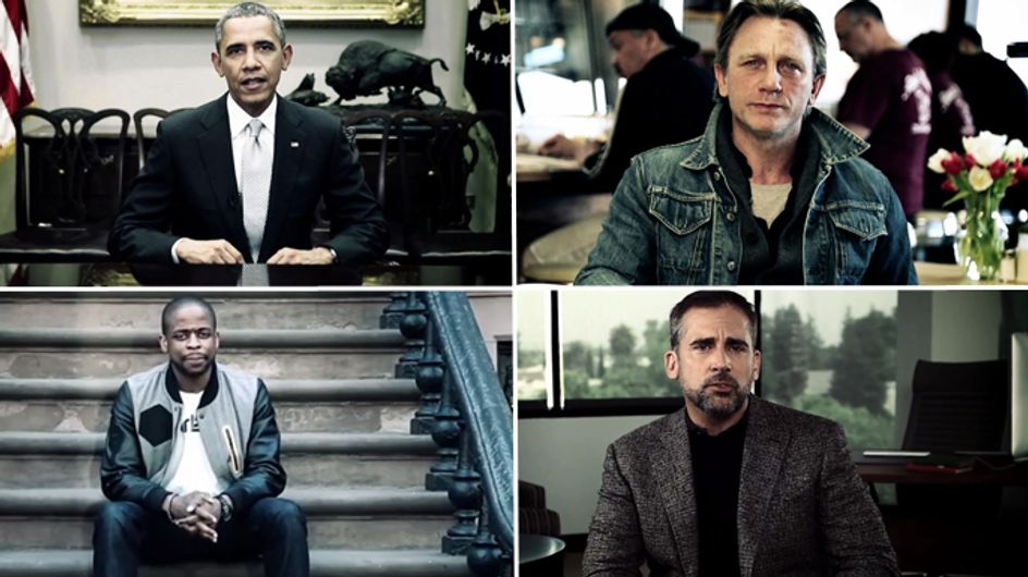 """Video/ """"Mettiamo fine agli abusi sessuali"""". Da Obama a Daniel Craig: gli uomini dalla parte delle donne"""