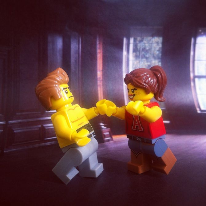Dirty Dancing #LegoStories