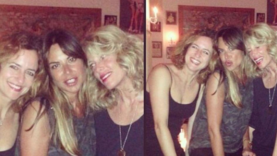 Alessia Marcuzzi in vacanza con la ex moglie di Raoul Bova: le foto su Instagram