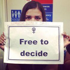 Las protestas contra la Ley del Aborto llegan a Londres