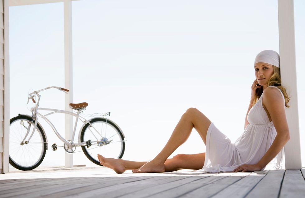Faire du vélo en jupe sans montrer sa culotte, c'est désormais possible (Vidéo)