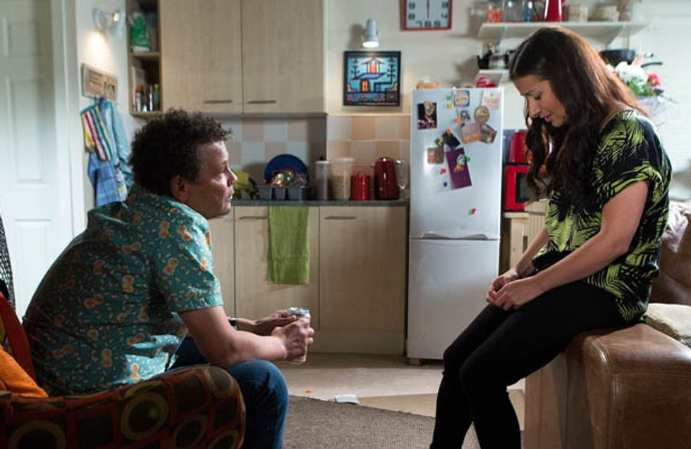 Coronation Street 18/07 – Andrea struggles with her two lives