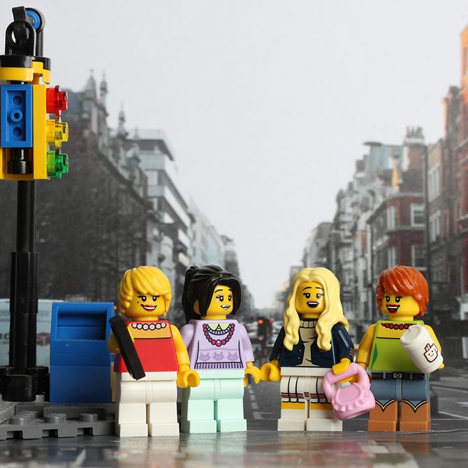 Sex and The City #LegoStories