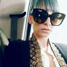 Nicole Richie : Après le violet, elle passe au bleu (Photo)