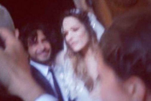 Laura Chiatti e Marco Bocci nel giorno delle nozze