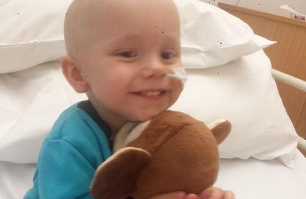 La historia de un pequeño luchador: un bebé de 18 meses se cura de 27 tumores
