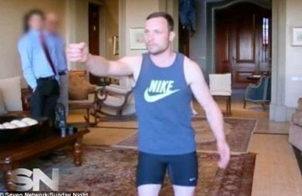 Oscar Pistorius : La vidéo qui sème le trouble en plein procès