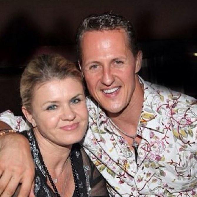 Michael et Corinna Schumacher