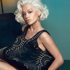 Rita Ora : Méconnaissable pour Roberto Cavalli