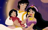 ¿Cómo serían los hijos de las Princesas Disney?
