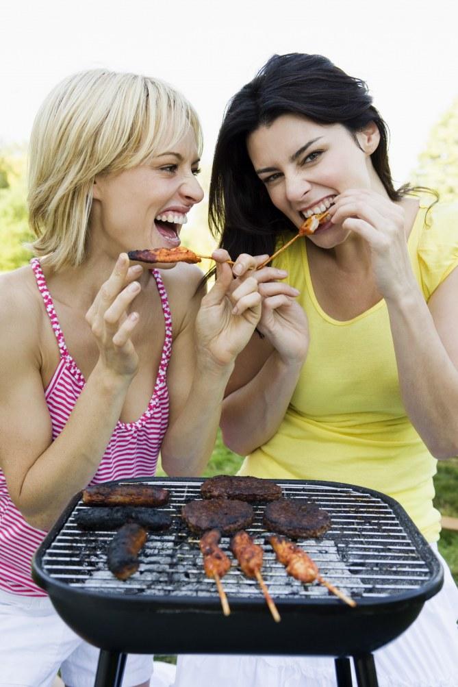 Un barbecue entre copines