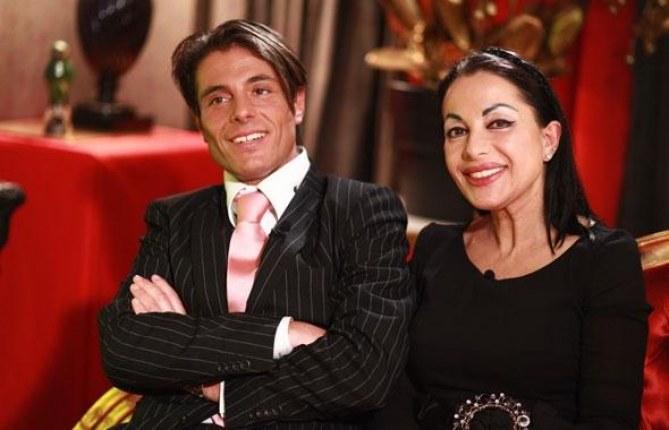 Giuseppe et sa maman