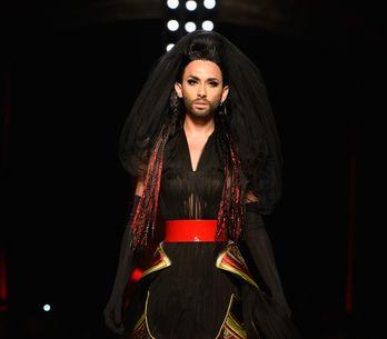 Conchita Wurst : Mannequin fétiche du défilé Jean Paul Gaultier