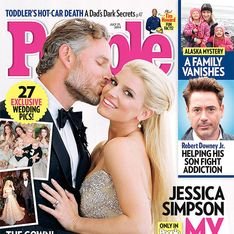 Jessica Simpson : Les premières photos de son mariage