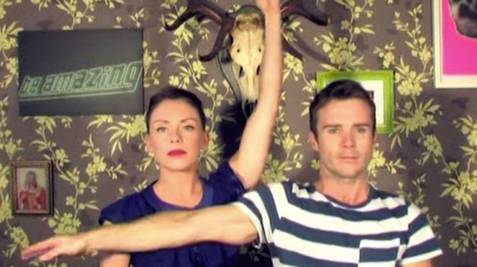 Coreografía a cuatro manos... ¡Talento en estado puro!