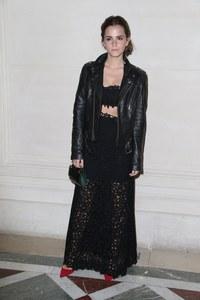 Emma Watson au défilé Haute Couture Valentino le 9 juillet 2014