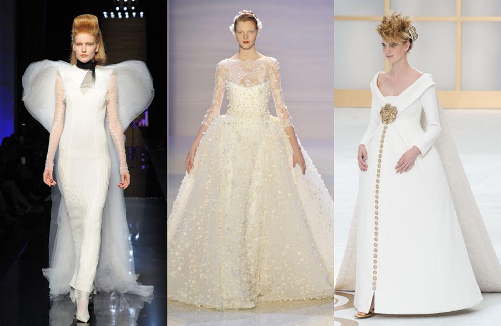 Una sposa da favola: scopri 7 abiti da sposa d'alta moda in tutti i loro preziosi dettagli
