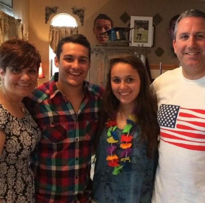 Carleigh et sa famille