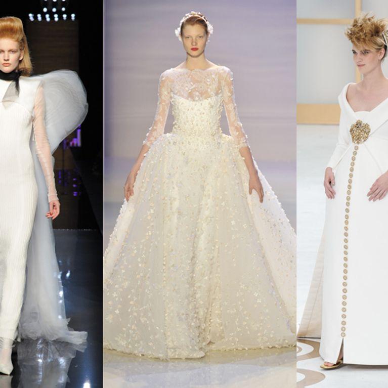 Gli abiti da sposa alta moda più belli dell autunno inverno 2014 2015 93e8c576993
