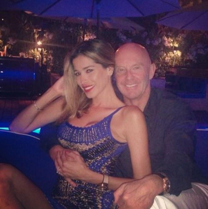 Aida Yespica con il fidanzato